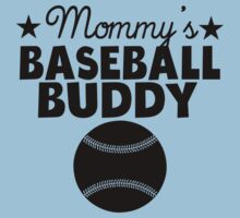 Mommy's Baseball Buddy Kids Tee