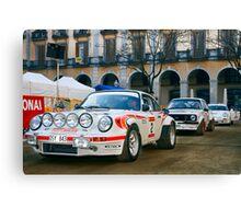 Rally Costa Brava_1 Canvas Print