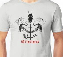 Nordic Symbol - ' Ottastafur ' -  Put Fear In Enemy Unisex T-Shirt