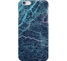 Civil War Maps 1075 Map showing the location of battle fields of Virginia Inverted iPhone Case/Skin