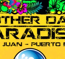 San Juan Paradise Sticker