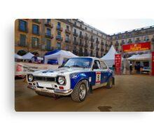 Rally Costa Brava_3 Canvas Print