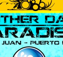 San Juan Beach Sticker