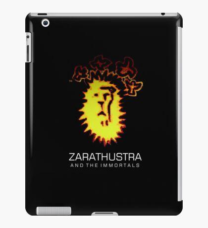 Lion Logo + Fonts iPad Case/Skin