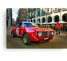 Rally Costa Brava_4 Canvas Print