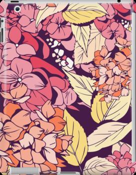 Hydrangea warm case by Julia Hromova