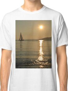 sunset in bodrum Classic T-Shirt