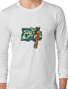 Curbs Chick Long Sleeve T-Shirt