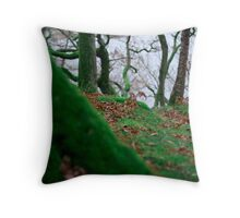 Forest in Keswick Throw Pillow