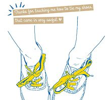 Mother's Day: Shoe Laces by Suzanne Brogan