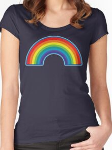 Full Rainbow Women's Fitted Scoop T-Shirt