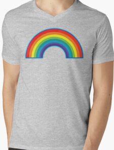 Full Rainbow Mens V-Neck T-Shirt