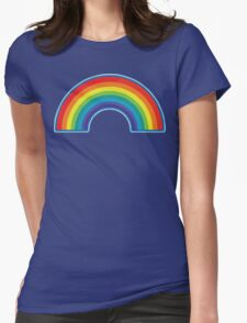 Full Rainbow Womens Fitted T-Shirt
