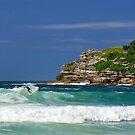 Bondi Beach by Frank Kletschkus