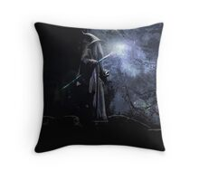 Gandalf The Grey.  Throw Pillow