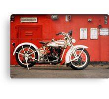 Harley-Davidson JD 1927 Metal Print