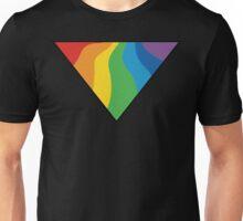 Gay Triangle Rainbow Unisex T-Shirt
