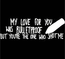 Bulletproof Love - Pierce the Veil Lyric Overlay by bmthidk
