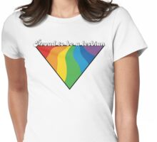 Proud To Be a Lesbian Womens Fitted T-Shirt