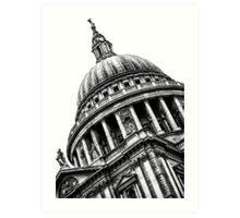 Distinguished Dome (BW) Art Print