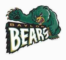 "College University ""Baylor Bears"" Sports Baseball Basketball Football Hockey by artkrannie"