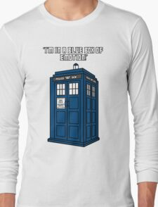 I'm in a Blue Box of Emotion Long Sleeve T-Shirt