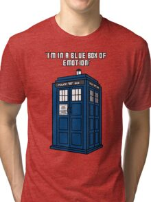 I'm in a Blue Box of Emotion Tri-blend T-Shirt