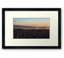 Backyard sunrise 2 Framed Print