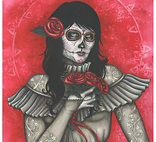 Chelle of the Dead - dia de los muertos by ConnieFaye