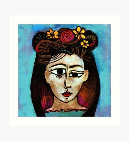 The Lady Spaniard Art Print