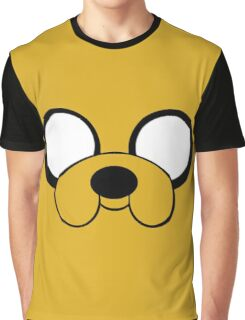 Jake the Dog Face Graphic T-Shirt