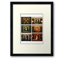 Society of the Crossed Keys Framed Print