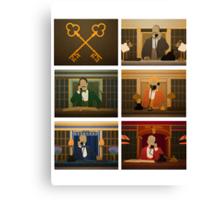 Society of the Crossed Keys Canvas Print