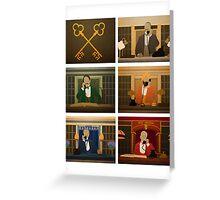 Society of the Crossed Keys Greeting Card