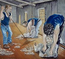 Shearing of the Lambs by Beverley Jacobs