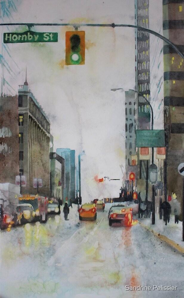 Vancouver Blues by Sandrine Pelissier