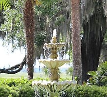 Garden Fountain by Bob Hardy