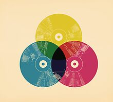 Cmyk music record by Budi Satria Kwan