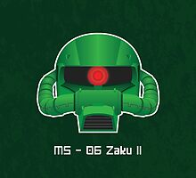 MS-06 Zaku II by Samanator