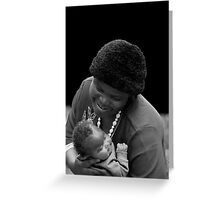 Mother & Babe Greeting Card