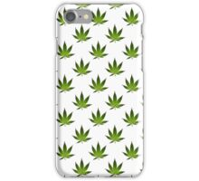 Marijuana Leaves Pattern II iPhone Case/Skin