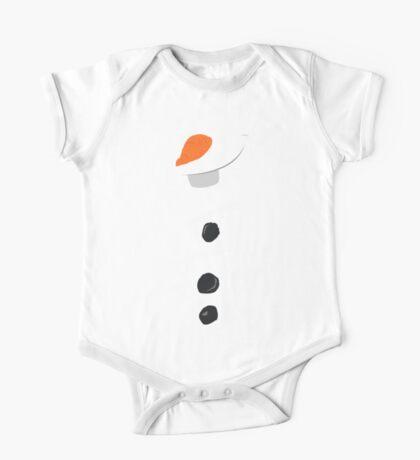 Do You Wanna Be a Snowman? One Piece - Short Sleeve
