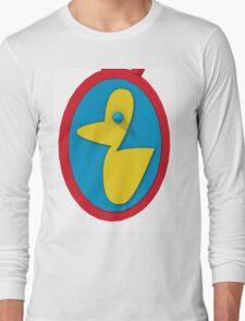 rubber ducky pendant Long Sleeve T-Shirt