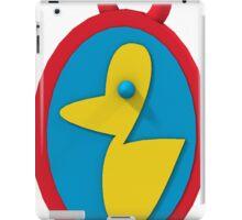 rubber ducky pendant iPad Case/Skin