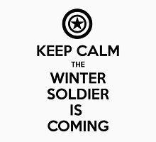 KEEP CALM... The Winter Soldier Is Coming (Black) Unisex T-Shirt