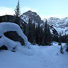 Snowy trail by zumi