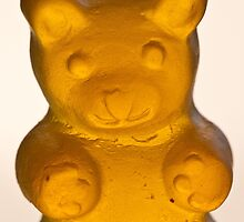 orange gummy bear by c-chenard