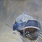 Blue Coble by Sue Nichol