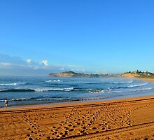 Beautiful Beach Morning by D-LOVE