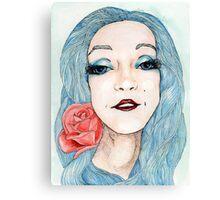 Illustrated Nina Canvas Print